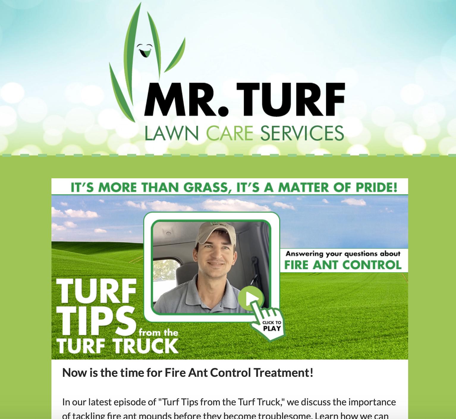 MrTurf-Newsletter